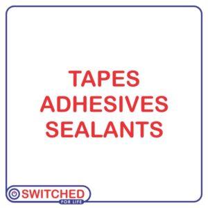 Tapes/ Adhesives/ Sealants