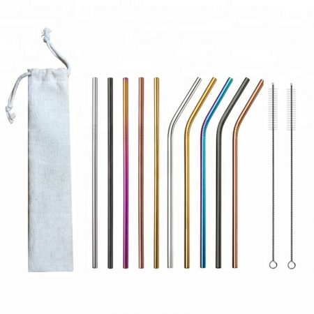 10 Piece Straw Set - Switched For Life